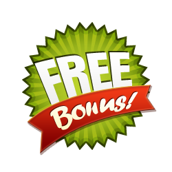 Free Bonus - Burst Badge Green
