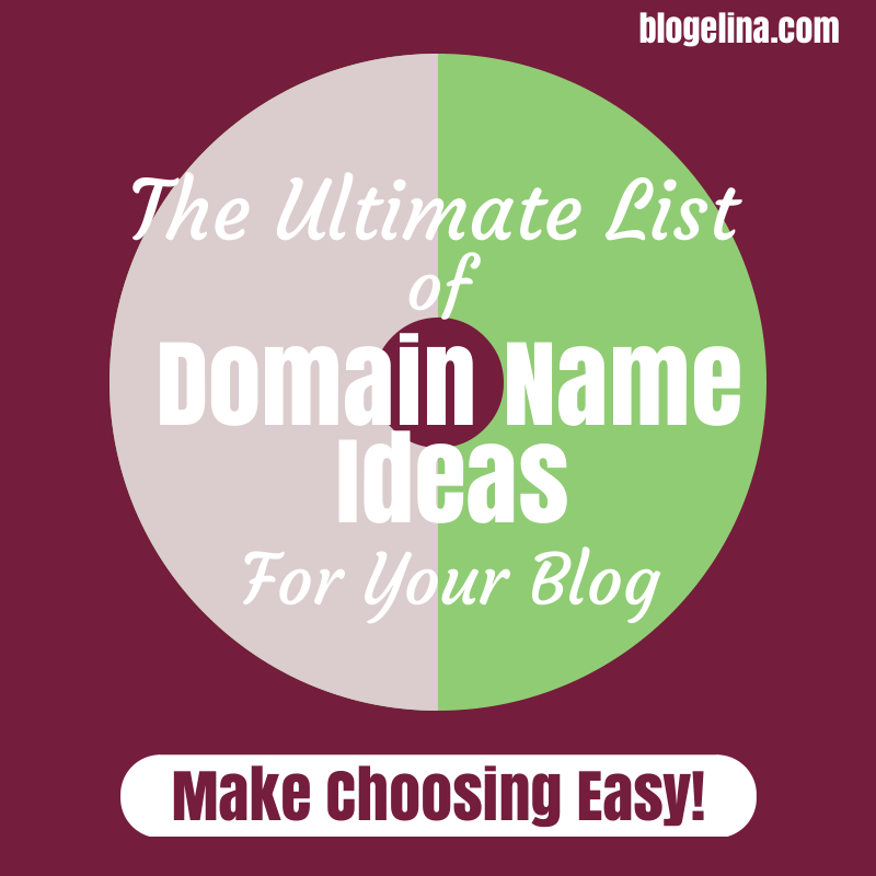 700 Domain Ideas For YOUR Blog