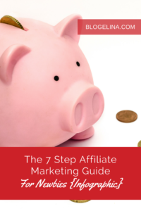 The 7 Step Affiliate Marketing Guide For Newbies {Infographic} - Blogelina (1)