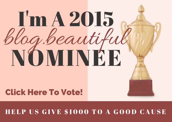 A 2015 blog.beautiful Finalist