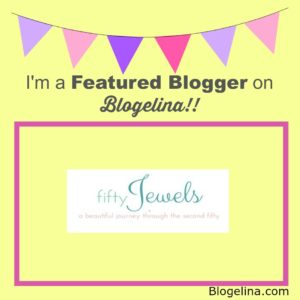 I'm a Featured Blogger - Fifty Jewels - Blogelina
