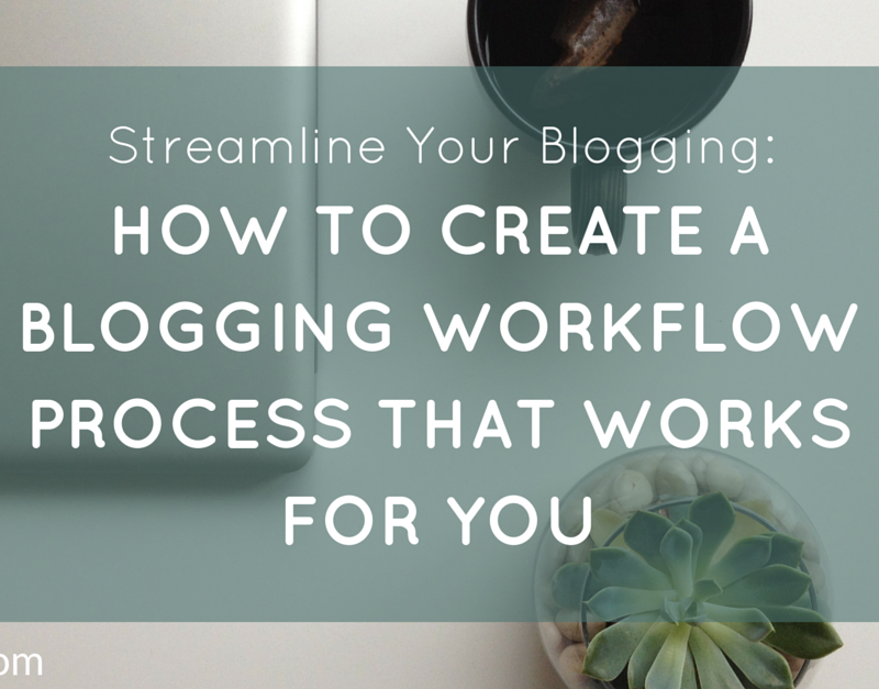 Streamline Your Blogging – How to Create a Blogging Workflow Process That Works for You