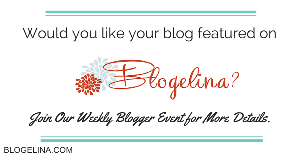 Weekly Blogger Event: This Week's Featured Blogger Is…
