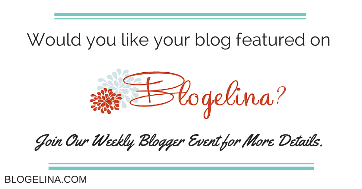 Would you like your blog featured on Blogelina-