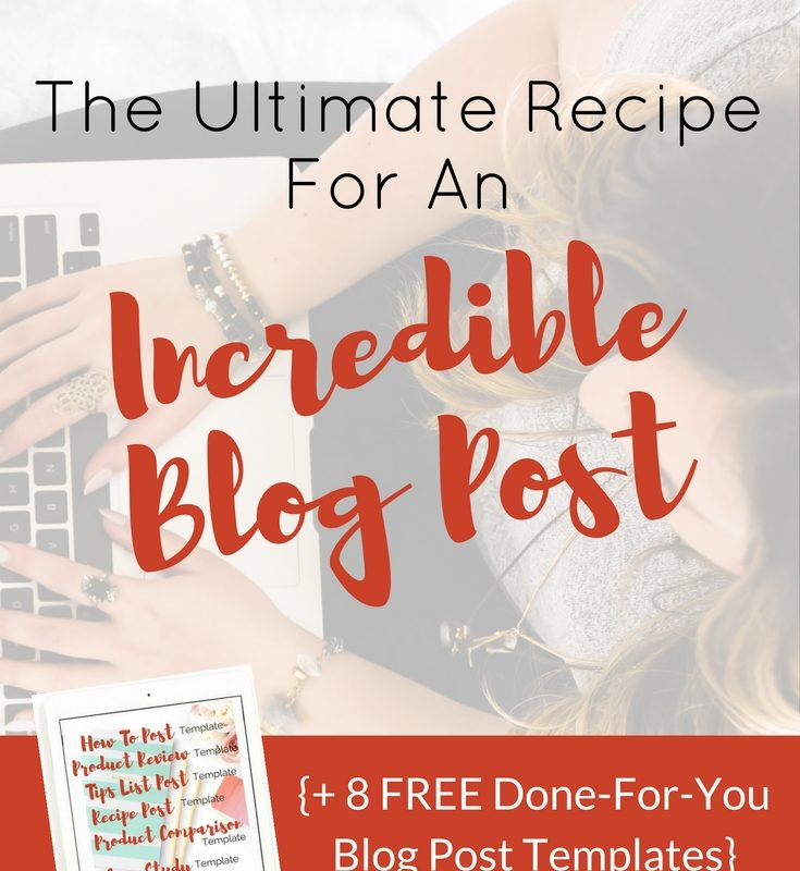 The Ultimate Recipe For An Incredible Blog Post