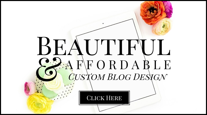 Beautiful, Affordable Custom Blog Design Service