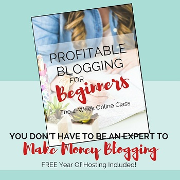 Profitable Blogging For Beginners - 4 Week Online Class
