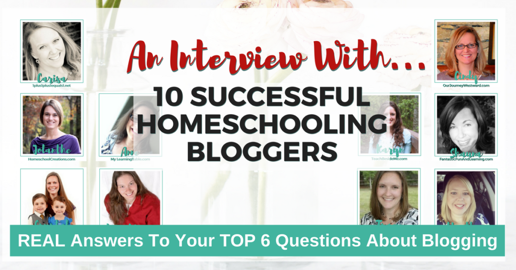 10 Real Life Bloggers Answer Your Top 6 Questions About Blogging!