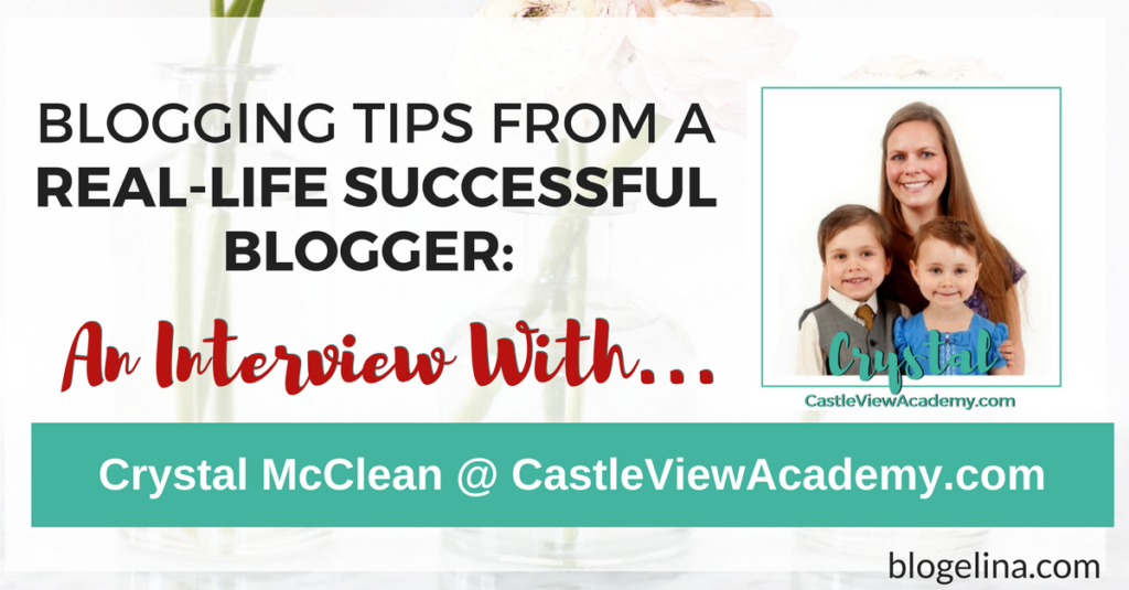 Blogging Tips From A Successful Blogger - An Interview With Crystal